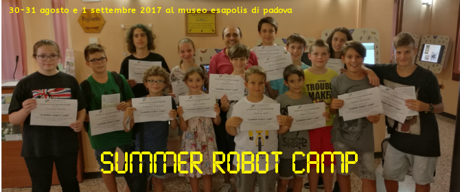 2017-08-30 – Summer Robot Camp 2