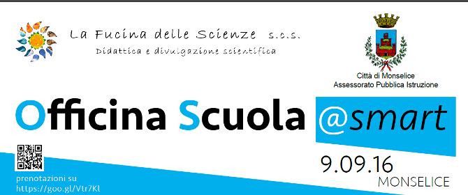Banner Officina Scuola @Smart