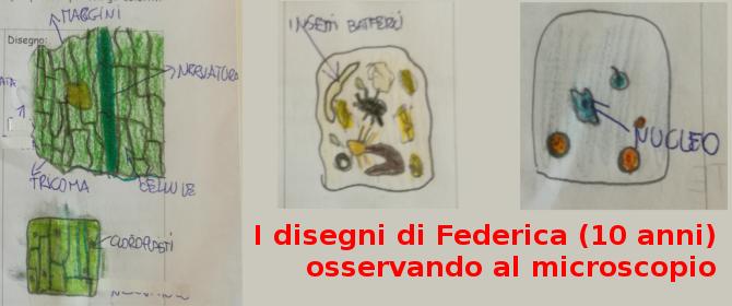 I disegni di Federica 10 anni