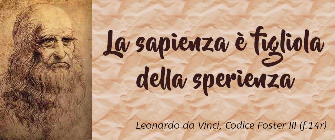 Leonardo da Vinci – sperienza