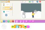 A Scuola dell'infanzia e primaria con ScratchJr: costruiamo una favola per immagini, partendo da un testo letto in classe (lezione 6)
